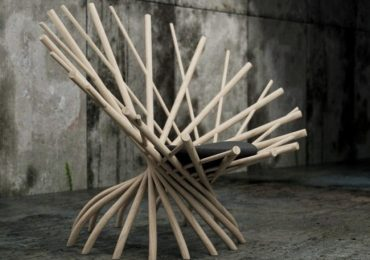 Free 3d model Commits Lamp & Nest Chair by Flying Architecture