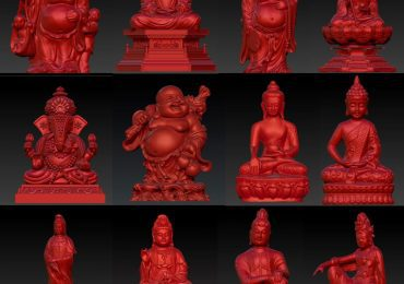 Free Buddha 3D Models by 3D Workshop