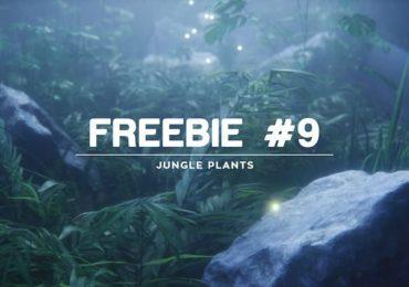 Free model from Darstellungsart Freebie #9 – Jungle Plants