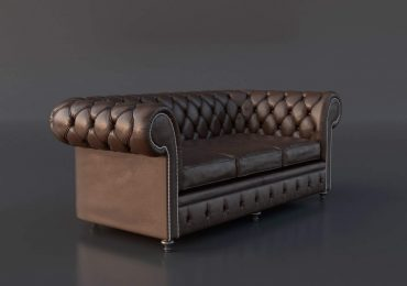 Chesterfield Couch 3D Model by Gonzalo Briceno Tugues