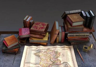 Free 3D Model from Livres Anciens