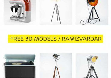 Free 3D Models from Ramizvardar