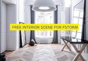 Free 3d Interior Scene For FStorm from Zchen