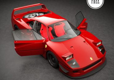 Free Model 3D Ferrari F40 from Matheus Kubota