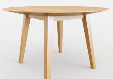 Free model Risom Round Dining Table from 3dvisdis