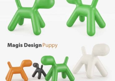 Magis Puppy Childrens Chair free 3D model