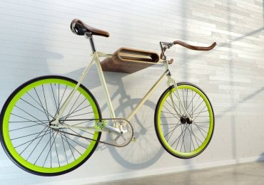 Free 3D Model – Bicycle On Rack from VizpeopleBlog