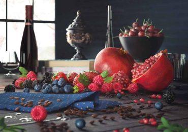Free 3D Models Berries Pomegranate CGI from John Zaki