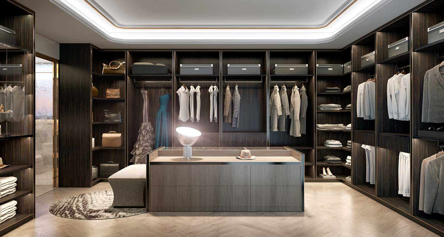 Free 3d scene walk in closet from bao doan for Modelos de walk in closet