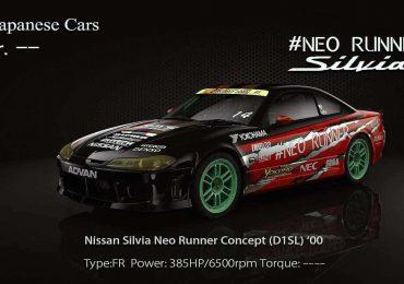 Free 3d model Nissan Silvia Neo Runner S15 from Pawel Kotwica