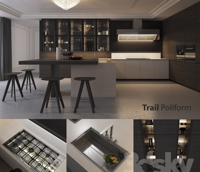 3d Kitchen model 14 free download