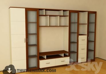3D models Child Wardrobe 43 free download