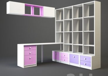 3D models Child Wardrobe 48 free download