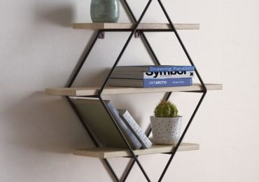 3d Diamond Cross Planes Shelf from Design Connected