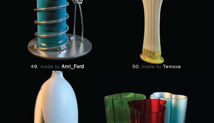 3D Model Vase 13 free download - 3Dzip ORG - 3D Model Free