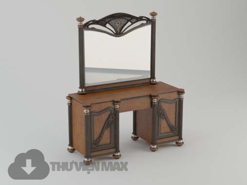 3d Dressing table model 68 free download