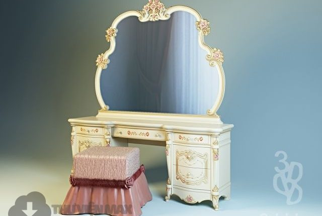3d Dressing table model 90 free download