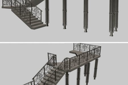 Staircase Archives - 3Dzip ORG - 3D Model Free Download