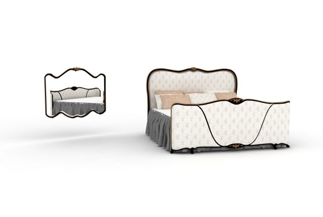 Free 3D Models Angelo Cappellini Classic Bed