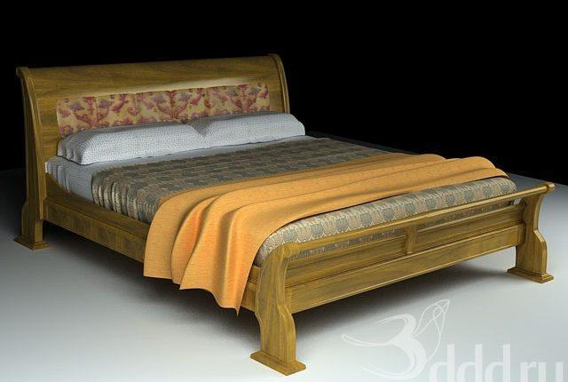 Free 3D Models Arka Bed