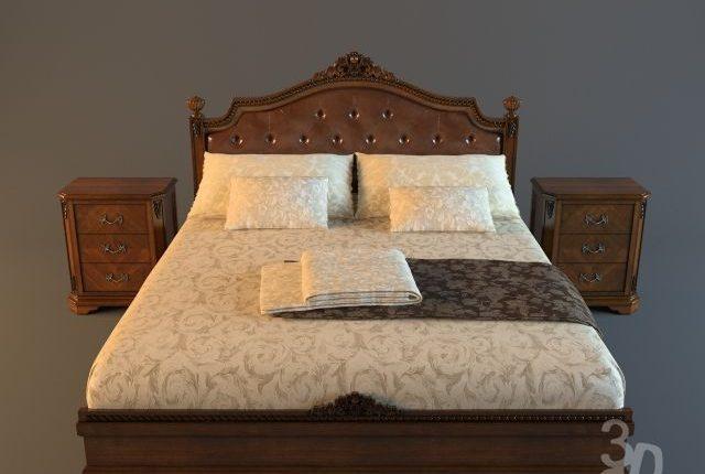 Free 3D Models Bamar Bed