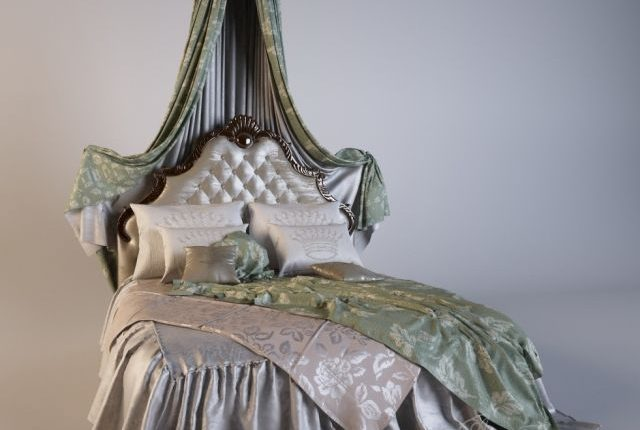 Canopy bed classic - 3Dzip ORG - 3D Model Free Download