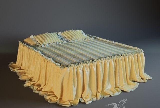 Free 3D Models Bed ho