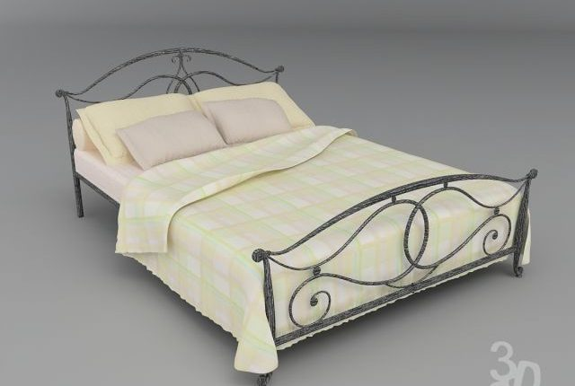 Free 3D Models Bed sed