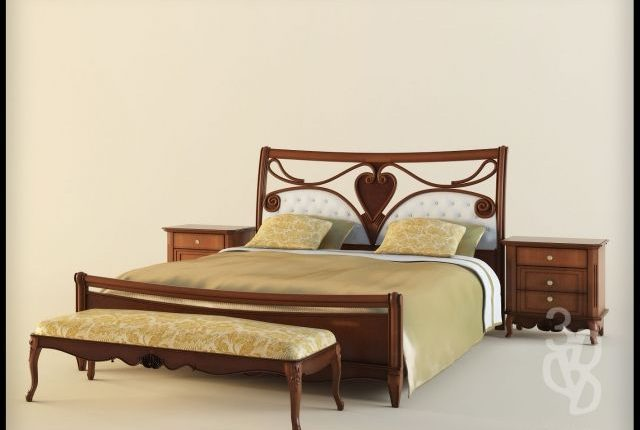 Free 3D Models Pointex ELEONORA Bedroom