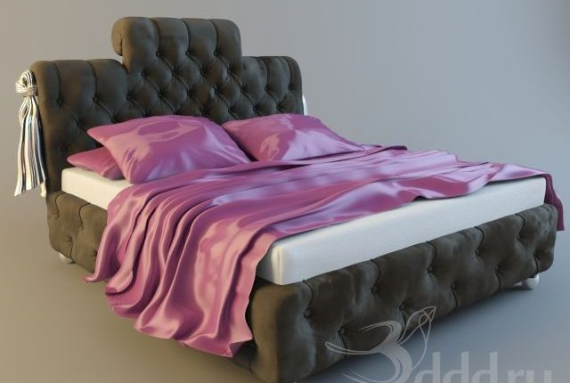 Free 3D Models STEFANY Paolo Luchetto Bed