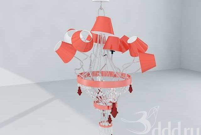 Free Model Lamp Baga contemporary chandelier