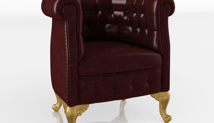 62 Chesterfield armchair – ModeneseGastone