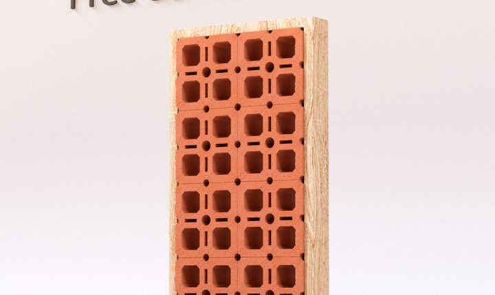 Decorative Bricks Set 1 Free 3D Model free download (3)