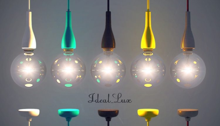 Ideal Lux Ceiling light 3dmodel free