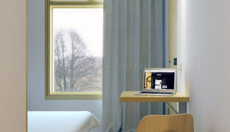 free-oleg-3d-wood-white-interior-scene (8)