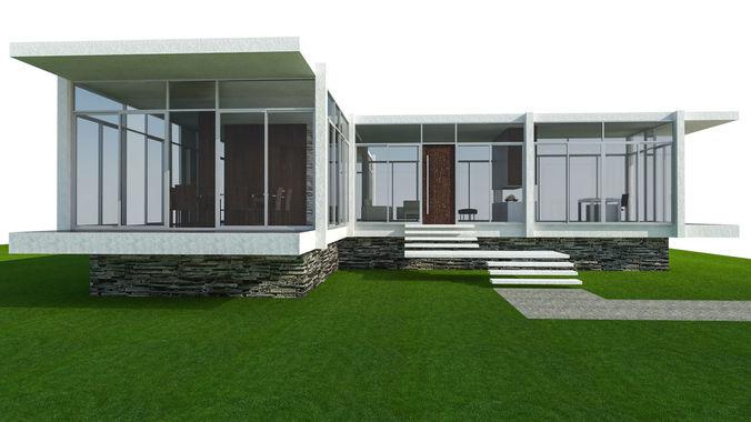 house-3d-model-skp