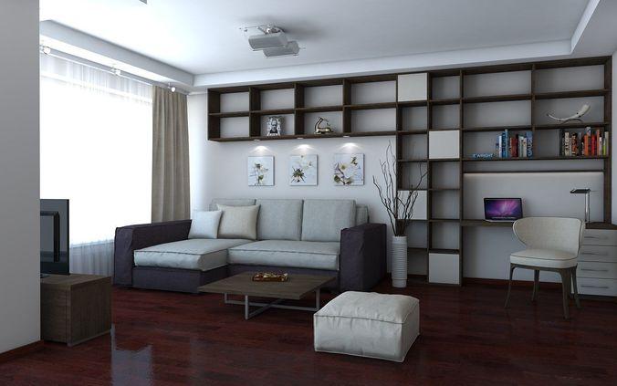 living-room-3d-model-skp