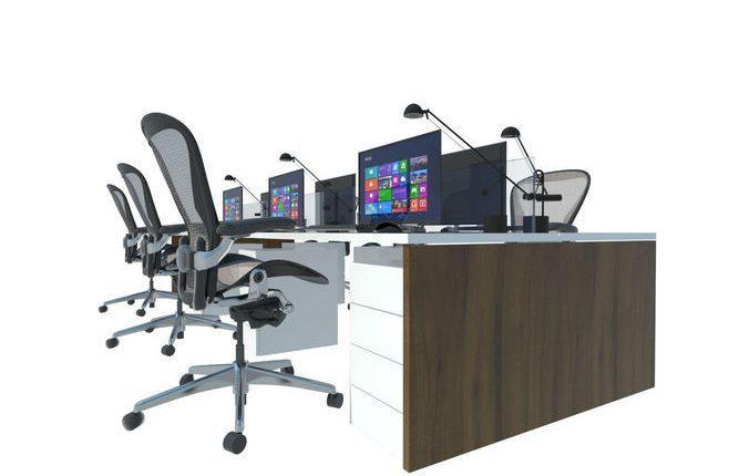 office-3d-model-skp