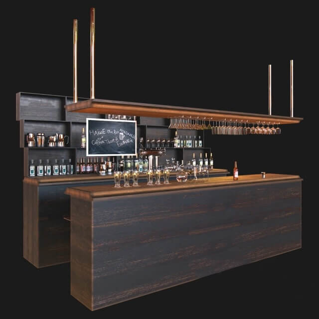 Home Design Ideas Free Download: 3D Model Bar File 3dsmax Free Download