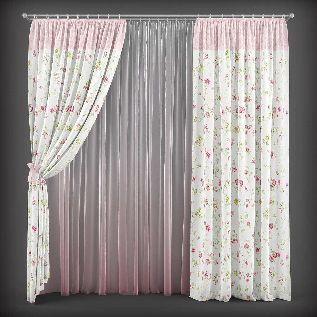 3d Curtain Model 72 Free Download