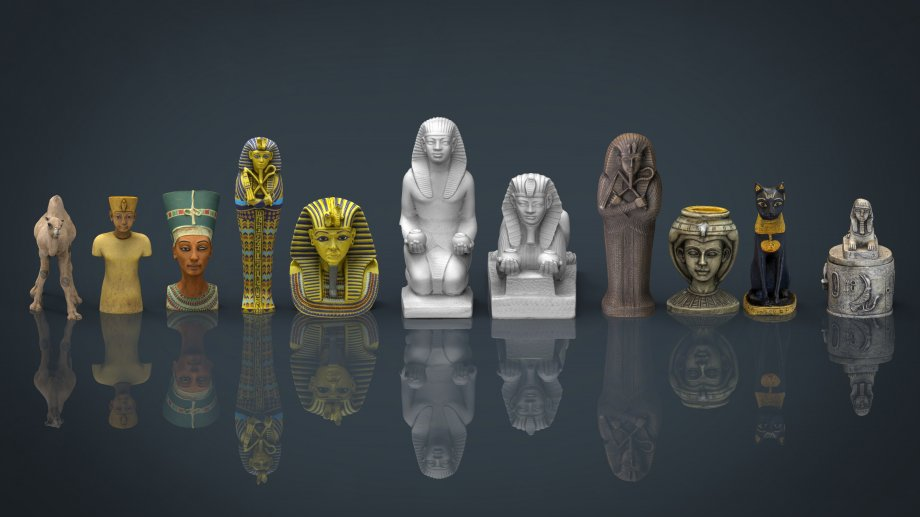 3d model EGYPT COLLECTION PACK download (34) - 3Dzip ORG - 3D Model