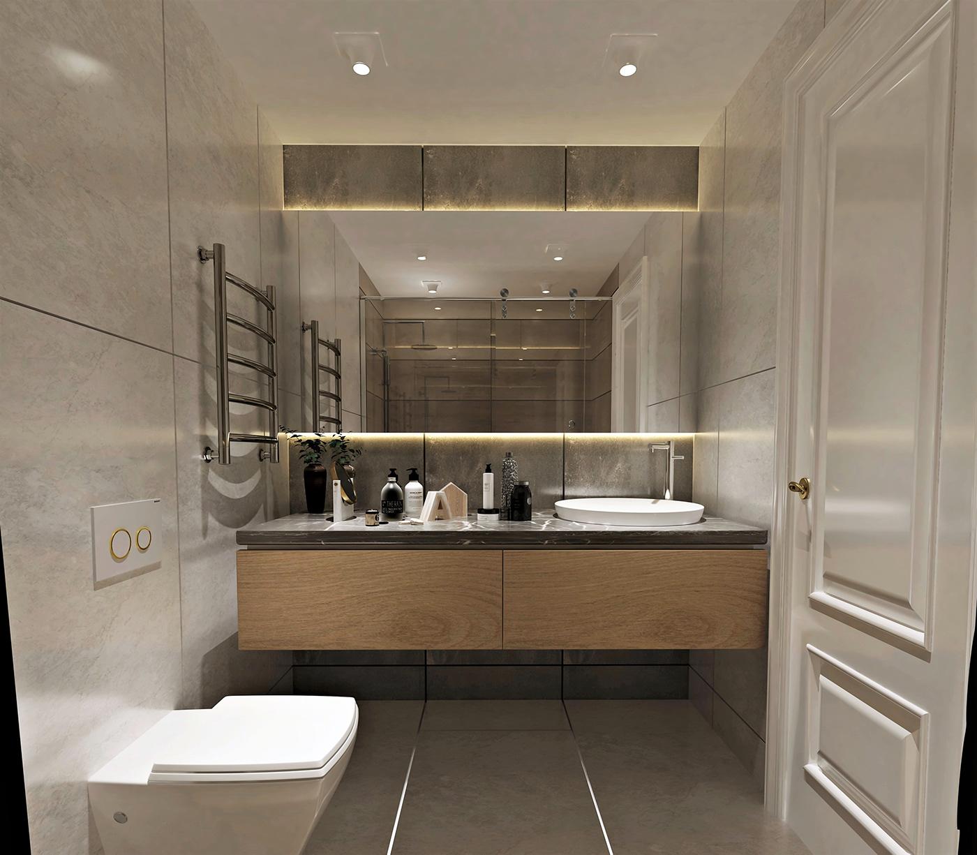 3D Models Bathroom Furniture 8 Free Download on Model Bathroom  id=38493
