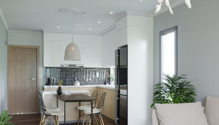 3D Interior Kitchen- Livingroom 11 Scenes File 3dsmax Free Dowload
