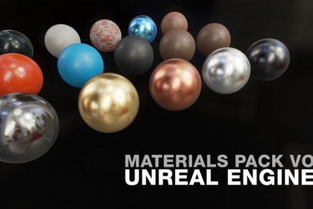 Free Download UE4 Materials Pack Vol1