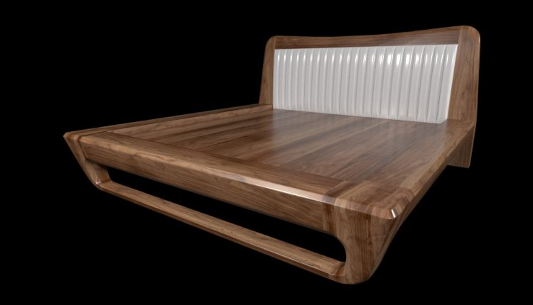 3D Bed Model 105 Free Download