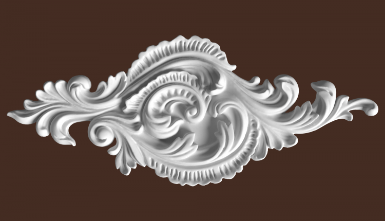 3D Decorative Plaster Model 183 Free Download