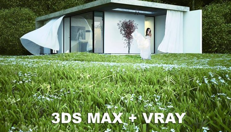 3D Full Exterior Scene Model 3dsmax by Mike Mendez Free Download