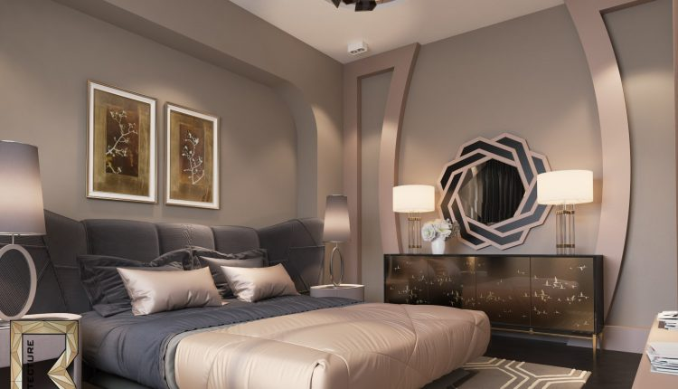 3D Interior Scenes File 3dsmax Model Bedroom 70-1