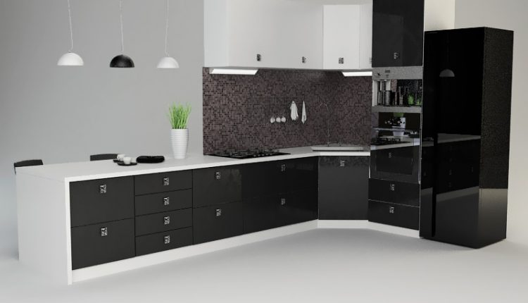 3D Model Kitchen 145 Free Dowload
