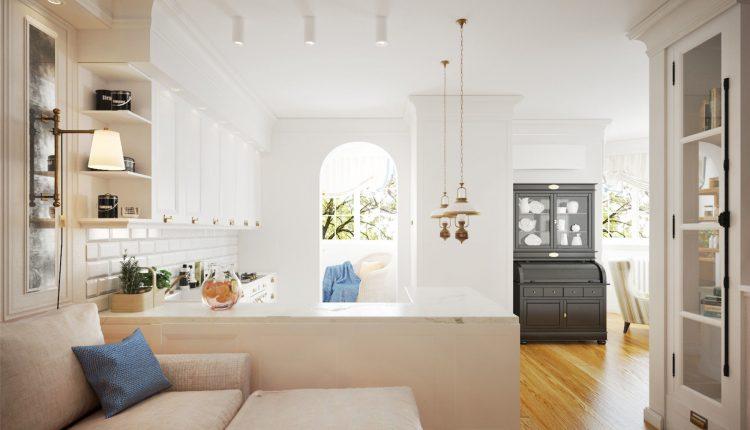 3D Interior Kitchen- Livingroom 16 Scenes File 3dsmax Free Dowload 1